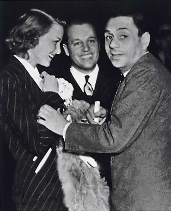 Jean Howard, Paul Flato and Fulco di Verdura, 1937