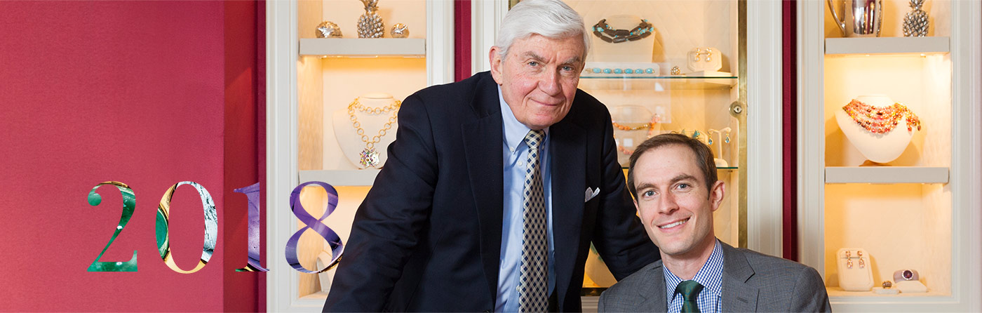 Photo of Verdura CEO Ward Landrigan and his son Nico Landrigan, President of Verdura